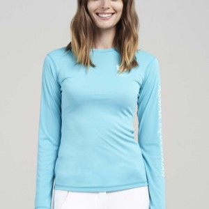 Asmar Long Sleeve Blue Curacao